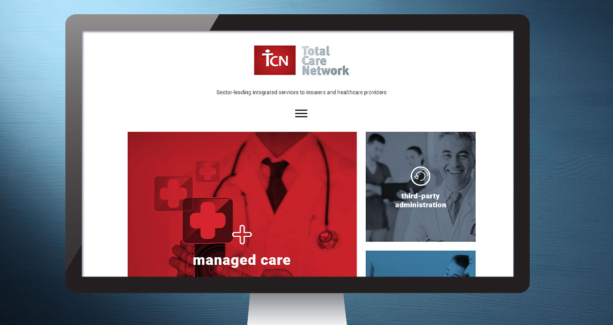 Total Care Network website 1