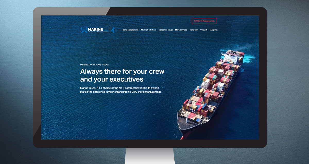 Marine Tours: new website, celebrating 40 Years of inspiring and empowering travel